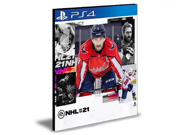 NHL 21  Ps4 e Ps5  - Mídia Digital