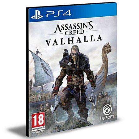Assassins Creed Valhalla Ps4 Mídia Digital