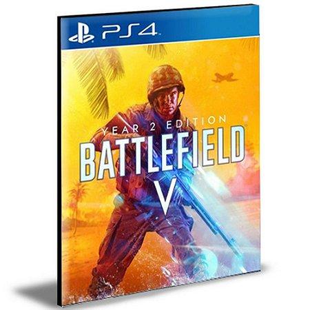 Battlefield 5 Edição Ano 2  Ps4 e Ps5   Português - Mídia Digital