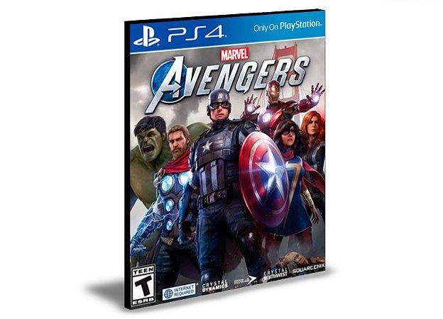 Marvel's Avengers Ps4 e Ps5 Mídia Digital