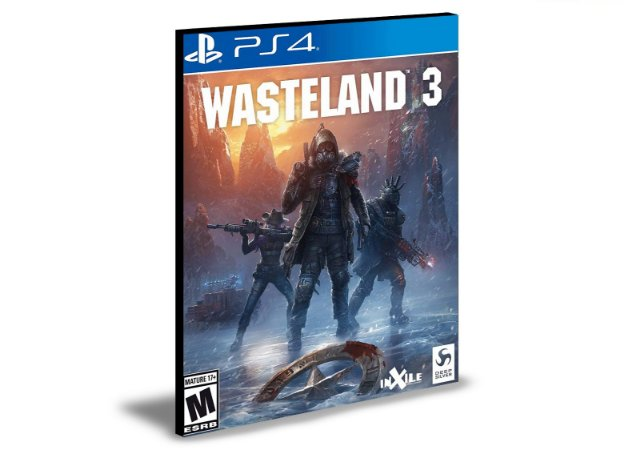 Wasteland 3  Ps4 e Ps5 - Mídia Digital