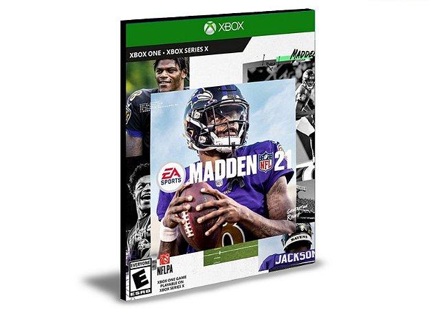 Madden NFL 21  Xbox One  MÍDIA DIGITAL