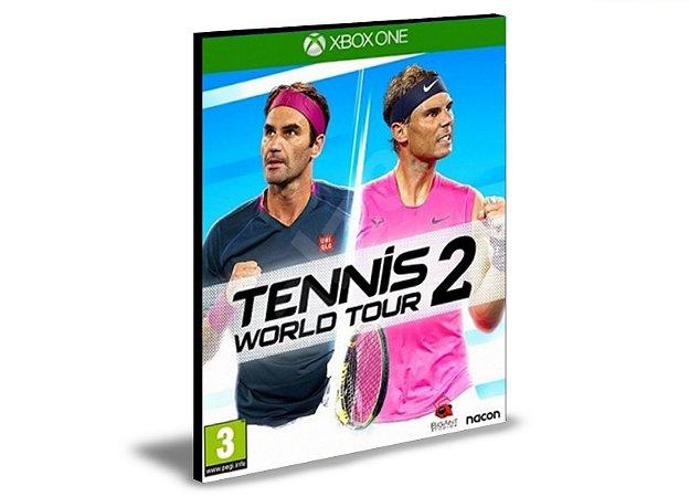 Tennis World Tour 2  Xbox One  MÍDIA DIGITAL