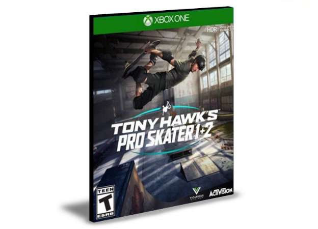 Tony Hawk's Pro Skater 1 + 2  Xbox One e Xbox Series X|S MÍDIA DIGITAL