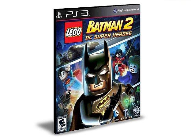 LEGO Batman 2 DC Super Heroes Ps3 Psn Mídia Digital