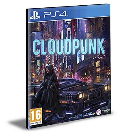 Cloudpunk Ps4 e Ps5 Psn Mídia Digital