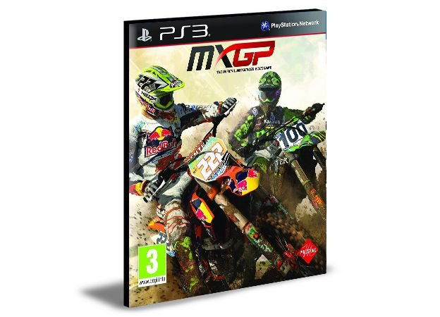MXGPThe Official Motocross PS3 PSN MIDIA DIGITAL