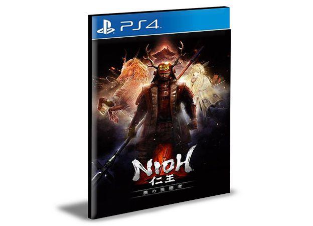 Nioh Season Pass Ps4 Psn Mídia Digital