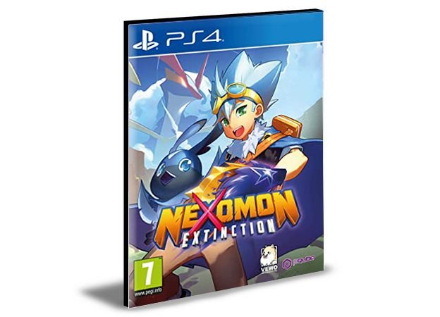 Nexomon Extinction  PS4 e PS5 PSN  MÍDIA DIGITAL