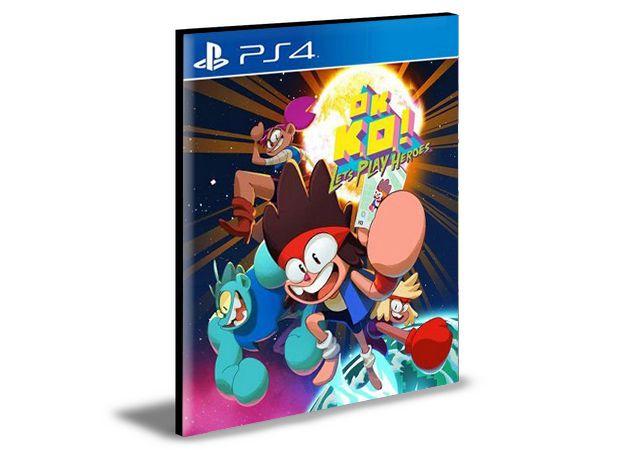 Ok Ko! Lets play heroes PS4 e PS5 PSN  MÍDIA DIGITAL