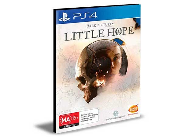The Dark Pictures Anthology: Little Hope Ps4 e Ps5  Psn   Mídia Digital