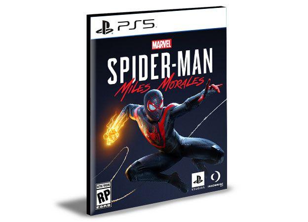 MARVELS SPIDER-MAN MILES MORALES PS5 PSN MÍDIA DIGITAL