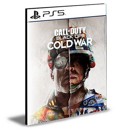 CALL OF DUTY BLACK OPS COLD WAR PS5 Cross Gen PSN Mídia Digital