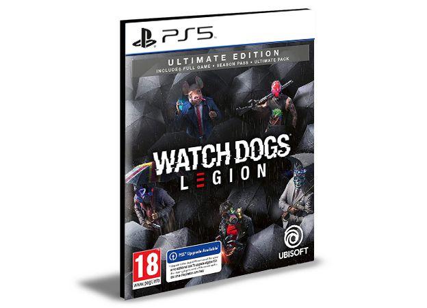Watch Dogs Legion Ultimate Edition Ps5  Psn - Mídia Digital