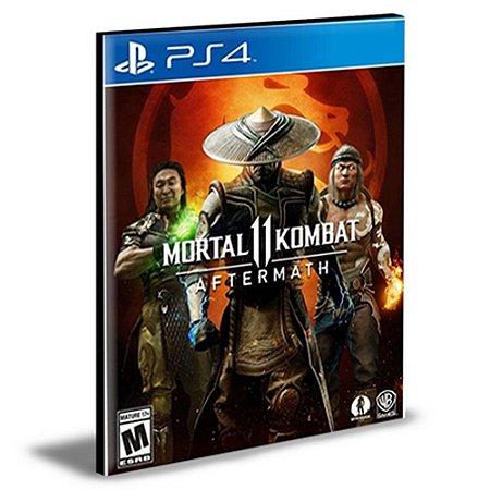 DLC Mortal Kombat 11 Aftermath Expansion PS4 PSN MÍDIA DIGITAL