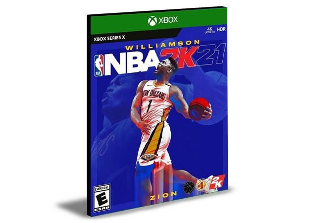 NBA 2K21 Next Generation Xbox Series X|S  MÍDIA DIGITAL