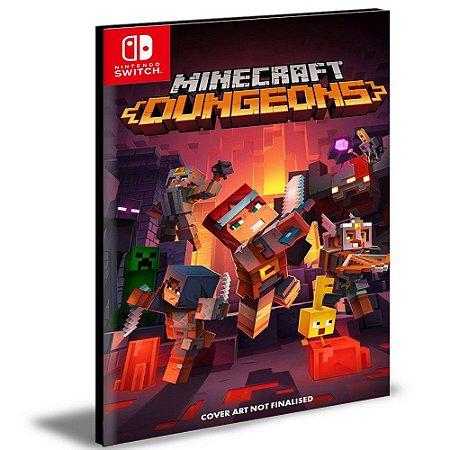 Minecraft Dungeons NINTENDO SWITCH MÍDIA DIGITAL
