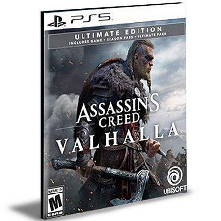 Assassins Creed Valhalla Ultimate Ps5 Português Mídia Digital
