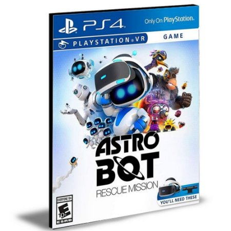 Astro Bot Rescue Mission Ps4 e Ps5 Psn  Mídia Digital