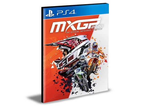 Mxgp 2020 Ps4 Psn Mídia Digital