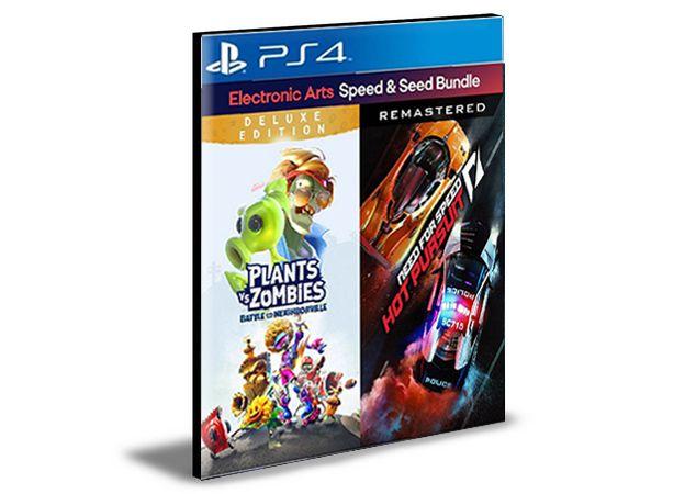 PACOTE VELOCIDADE E SEMENTES EA Bundle PS4 e PS5  PSN  MÍDIA DIGITAL