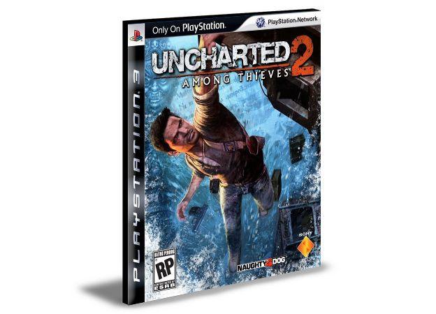 Uncharted 2 Among Thieves  PS3  PSN  MÍDIA DIGITAL