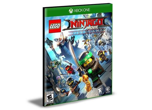 Lego Ninjago O Filme Video Game Xbox One e Xbox Series X|S MÍDIA DIGITAL