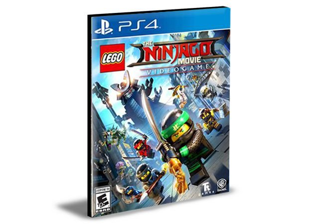 Lego Ninjago O Filme Video Game PS4 e PS5 MÍDIA DIGITAL