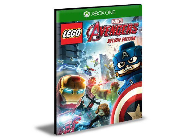 Lego Marvel's Avengers Deluxe Português Xbox One e Xbox Series X|S  MÍDIA DIGITAL