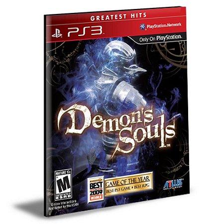 DEMON'S SOULS PS3  Psn  Mídia Digital