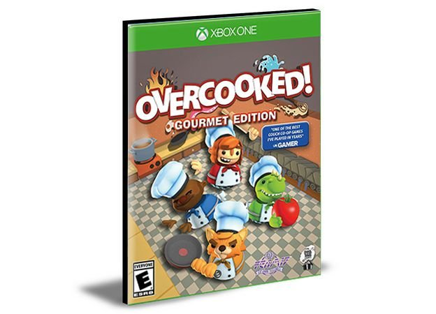 Overcooked Xbox One e Xbox Series X S Mídia Digital