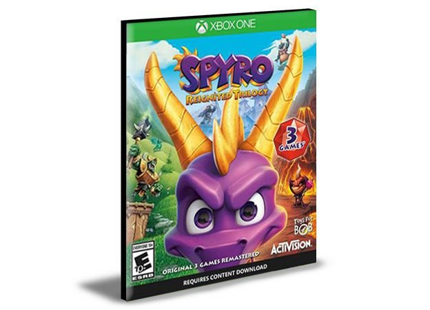 Spyro Reignited Trilogy Xbox One e Xbox Series X|S Mídia Digital