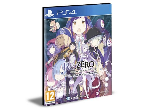 Re:ZERO Starting Life in Another World  Ps4 e Ps5 Psn  Mídia Digital