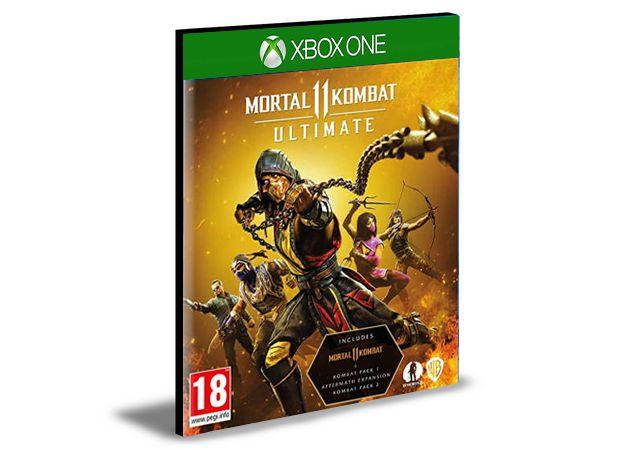 Mortal Kombat 11 Ultimate Bundle (Jogo + Dlcs) Xbox One e Xbox Series X S Mídia Digital