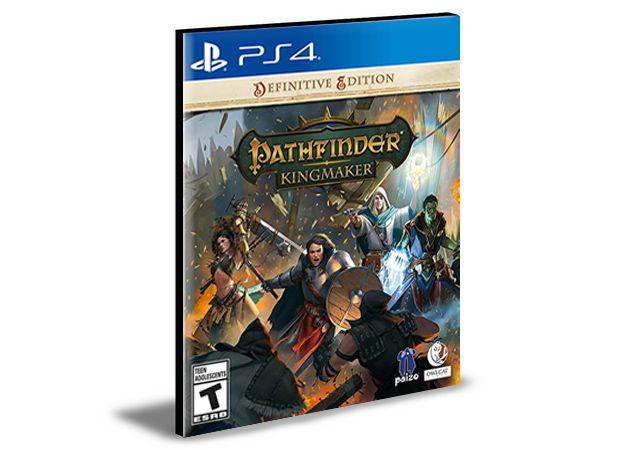 Pathfinder Kingmaker Definitive Edition  Ps4 e PS5  Mídia Digital