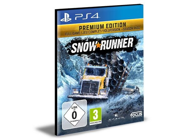 SnowRunner Premium Edition  Português Ps4 e Ps5 PSN Mídia Digital