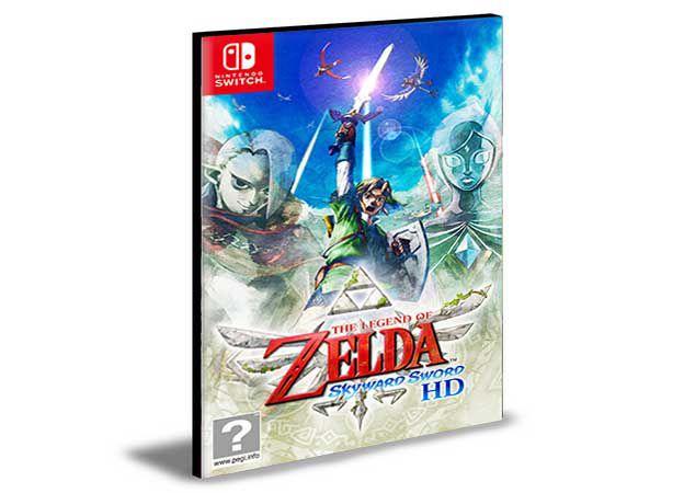 The Legend of Zelda Skyward Sword HD NINTENDO SWITCH Mídia Digital