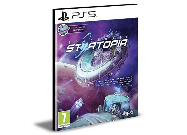 Spacebase Startopia Ps5 Psn  Mídia Digital