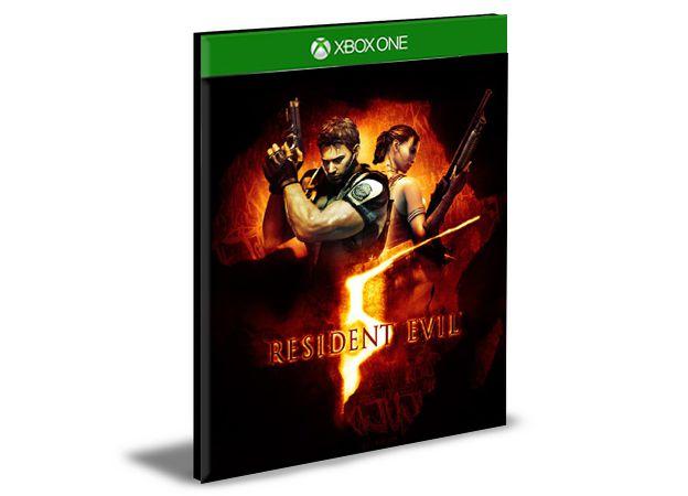 RESIDENT EVIL 5  Xbox One e Xbox Series X|S   Mídia Digital
