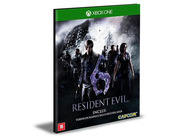 RESIDENT EVIL 6 Português Xbox One e Xbox Series X S   Mídia Digital