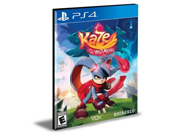 Kaze and the Wild Masks Ps4 e PS5 Mídia Digital