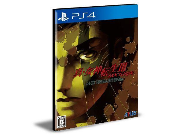 Shin Megami Tensei III Nocturne HD Remaster PS4 e PS5 PSN MÍDIA DIGITAL