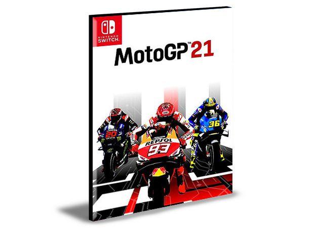 MotoGP  21 NINTENDO SWITCH Mídia Digital