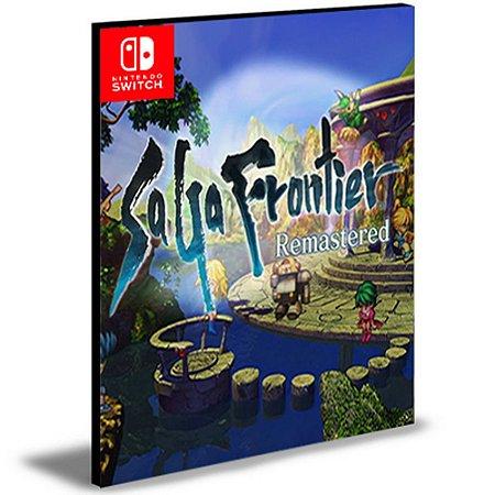 SaGa Frontier Remastered Nintendo Switch Mídia Digital