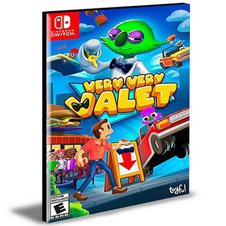 Very Very Valet Nintendo Switch Mídia Digital
