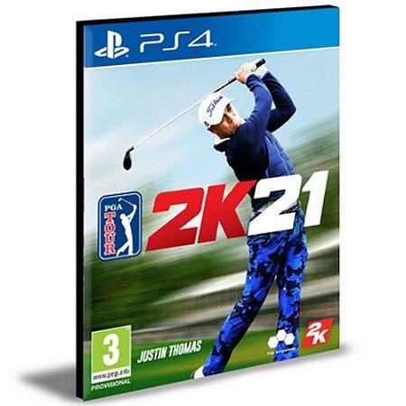PGA TOUR 2K21 Ps4 e Ps5 Psn Mídia Digital