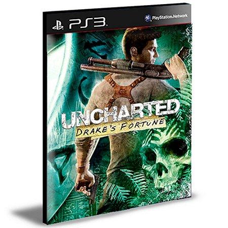 Uncharted 1 - Drake's Fortune PS3 PSN  MÍDIA DIGITAL