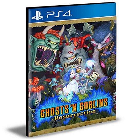Ghosts 'n Goblins Resurrection Ps4 e Ps5 Psn Mídia Digital