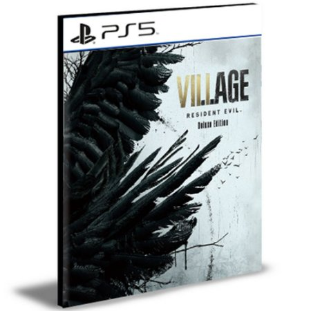 Resident Evil Village Versão Deluxe Ps5 Português Psn Mídia Digital