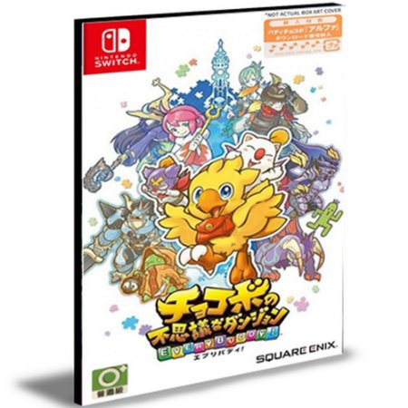 Chocobo's Mystery Dungeon EVERY BUDDY Nintendo Switch Mídia Digital